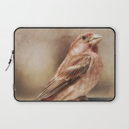 Purple Finch Laptop Sleeve