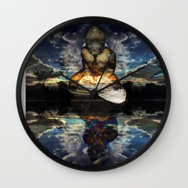 The Mirrored Surface Wall Clock