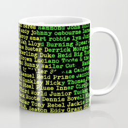 Reggae Artist - Roll Call Vol. 2 Coffee Mug