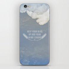 Keep Your Head Up iPhone & iPod Skin
