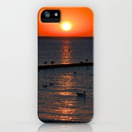Holy sunset on the Baltic Sea iPhone Case