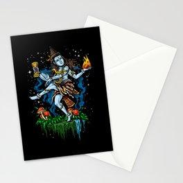 Lord Shiva Dancing Nataraja Hindu God Stationery Cards