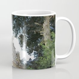 Woburn Lion - Acrylic Palette Knife Coffee Mug