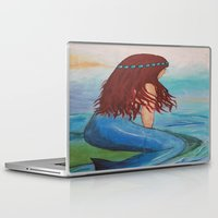marina Laptop & iPad Skins featuring Marina by Ashalika