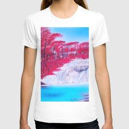 Crimson Cascade T-shirt