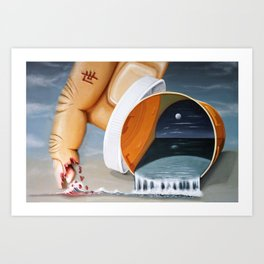 """Pill Bottle"" Art Print"