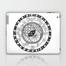 Circle Doodle Laptop & iPad Skin