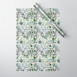 green_pattern Wrapping Paper