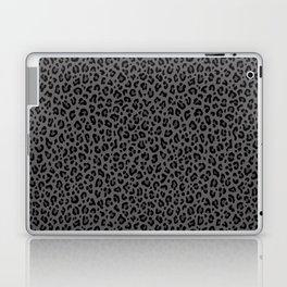 LEOPARD PRINT in Black & Gray / Collection : Leopard spots – Punk Rock Animal Print Laptop & iPad Skin