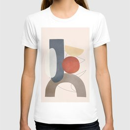 Minimal Abstract Shapes No.48 T-shirt