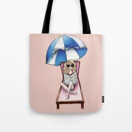 Margaux at the beach Tote Bag