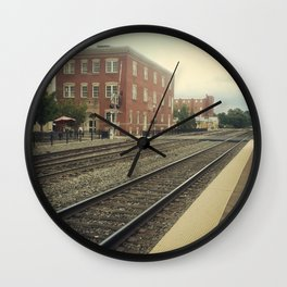 Manassas Station Wall Clock
