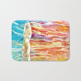 Rainbow Wind Bath Mat