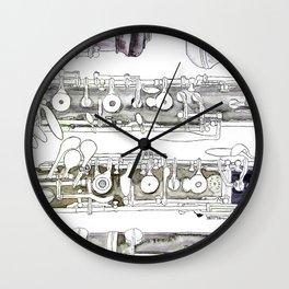 Hautbois Wall Clock