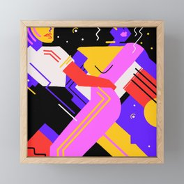 Hypnotic Tango Framed Mini Art Print