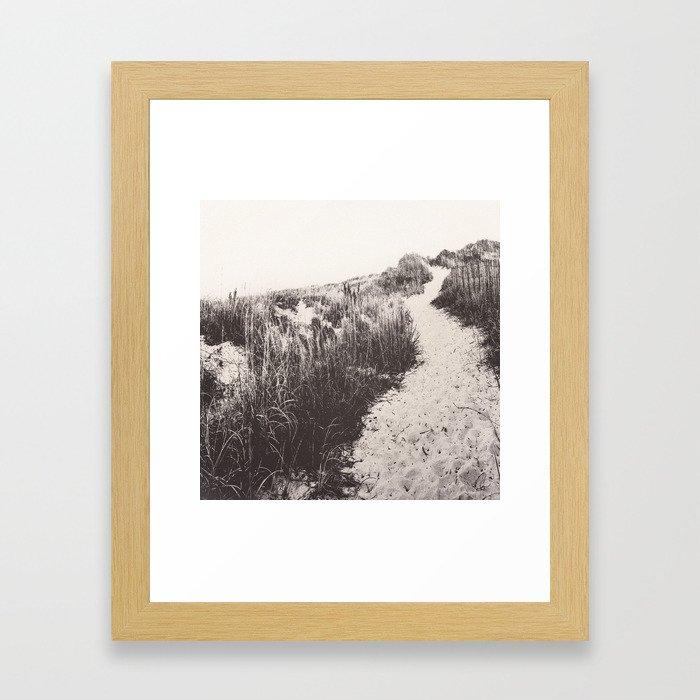 Come with me. Take me, take me higher. Framed Art Print