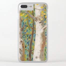 Deepening of the Spirit Clear iPhone Case