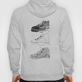 3 SHOES by Emmanuelle O'Bryan Hoody