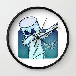 keep it mellow's Wall Clock