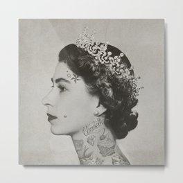 tattoo #queen #vintage Metal Print