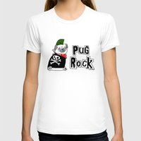 hiphop T-shirts featuring Pug Rock by gemma correll