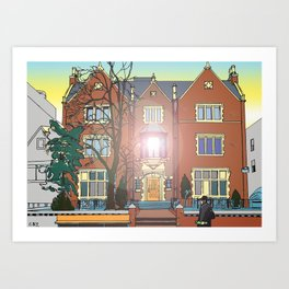 770 - THE LIGHT HOUSE of our generation Art Print