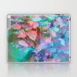 Pastel Abstract Hydrangea Laptop & iPad Skin