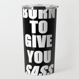 Sass Travel Mug