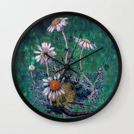 Roman Chamomile Wall Clock