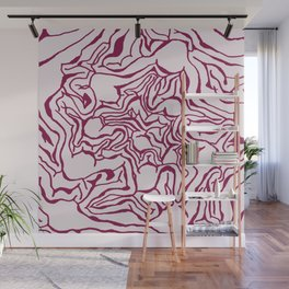 Cabbage Core Wall Mural