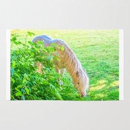 White Pony Rug