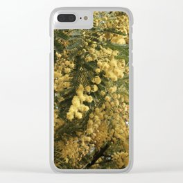 Nature marvels us with simple things Clear iPhone Case