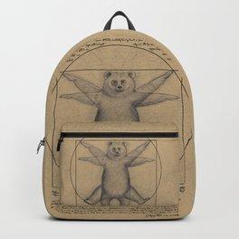 The Vitruvian Bear Backpack