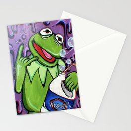 Trippy Kermit Stationery Cards