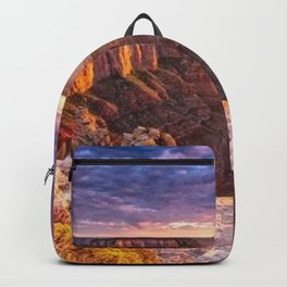 Purple Sunset at the Grand Canyon Backpack