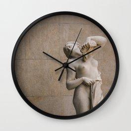 Breath Deep Wall Clock