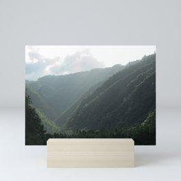 HEAVENLY VALLEY Mini Art Print