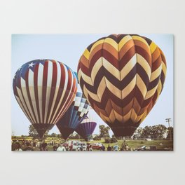 Hot Air Balloon Festival Canvas Print