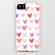 Love Hearts iPhone (5, 5s) Slim Case