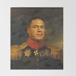 John Cena - replaceface Throw Blanket