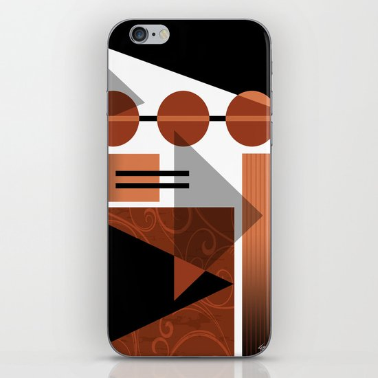 AZTEC DESERT | brown iPhone & iPod Skin