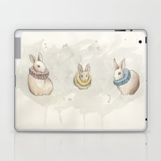 Rabbits in Ruffs Laptop & iPad Skin
