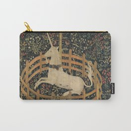 The Unicorn in Captivity (from the Unicorn Tapestries) Carry-All Pouch
