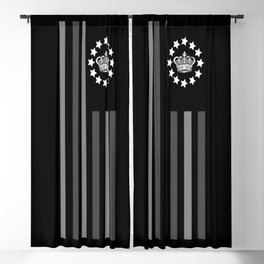 Crown Grey - Flag Blackout Curtain