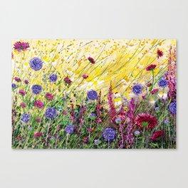 Monty's Garden Canvas Print