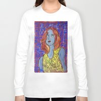 raven Long Sleeve T-shirts featuring RAVEN by JANUARY FROST