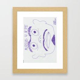 Murkins 4 Hope Framed Art Print