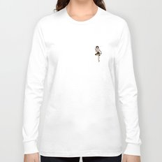 Audrey Horne Pin-up #2 Long Sleeve T-shirt