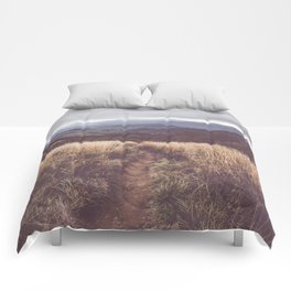 Bieszczady Mountains - Landscape and Nature Photography Comforters