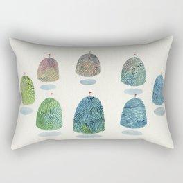 mountain reunion Rectangular Pillow